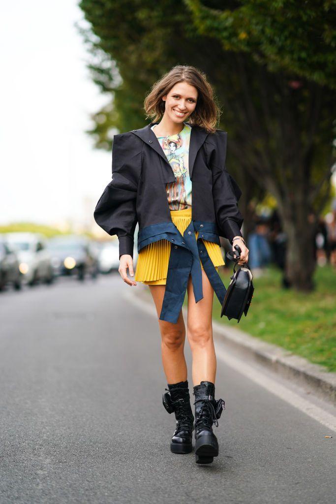 Blazer 24h in variazione di stile, lo street style della MFW ha già decretato il suo trend