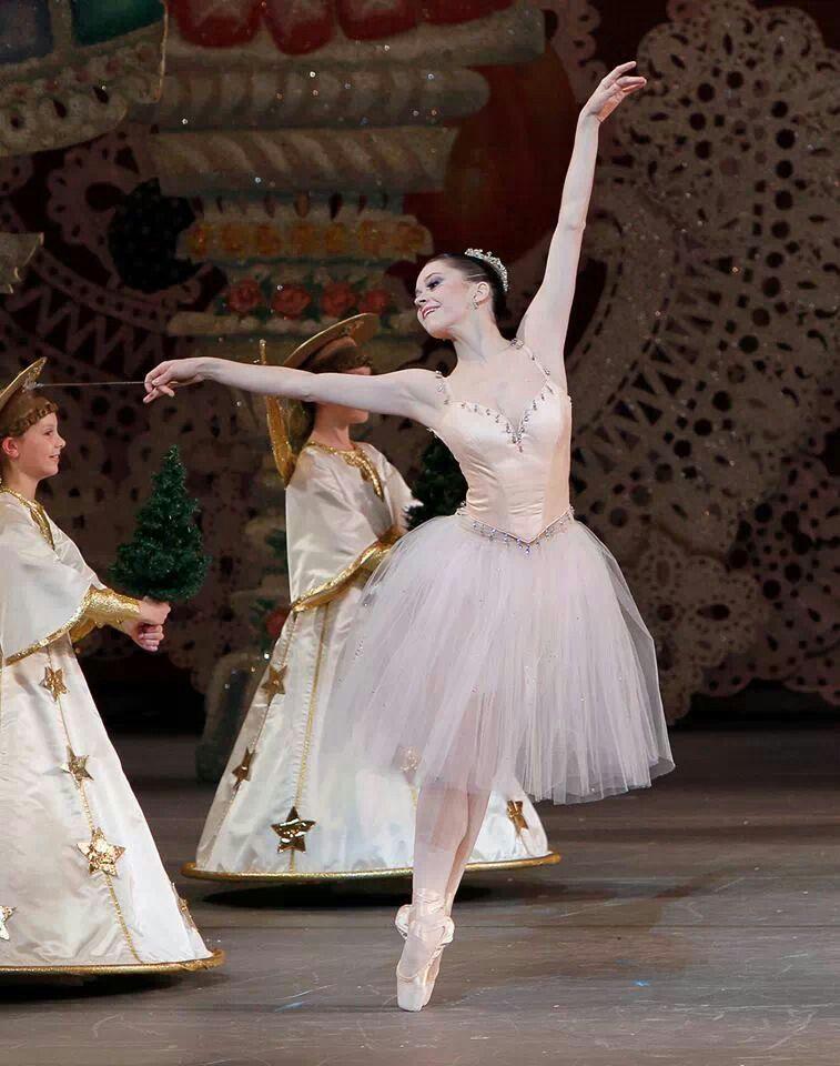 Ashley Bouder As Dewdrop New York City Ballet Nutcracker Nutcracker Ballet City Ballet Ballet Pictures