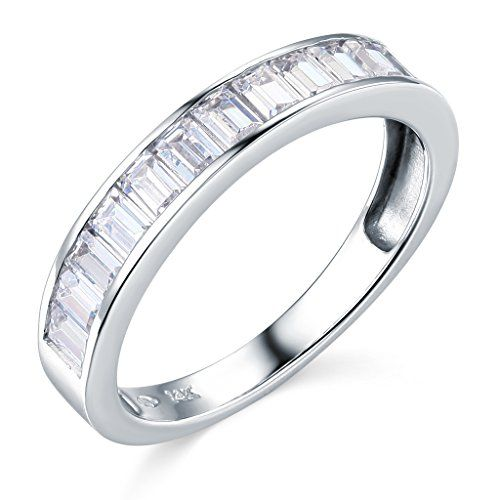 14k White Gold Solid Wedding Band Size 5 Details Can Be Found By Clicking On The Image 14k White Gold Wedding Band Cz Wedding Ring Sets Wedding Ring Bands