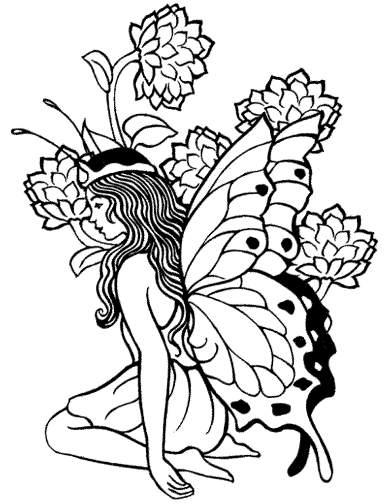 Fairy Coloring Pages For Adults Best Coloring Pages For Kids Owl Coloring Pages Fairy Coloring Pages Fairy Coloring