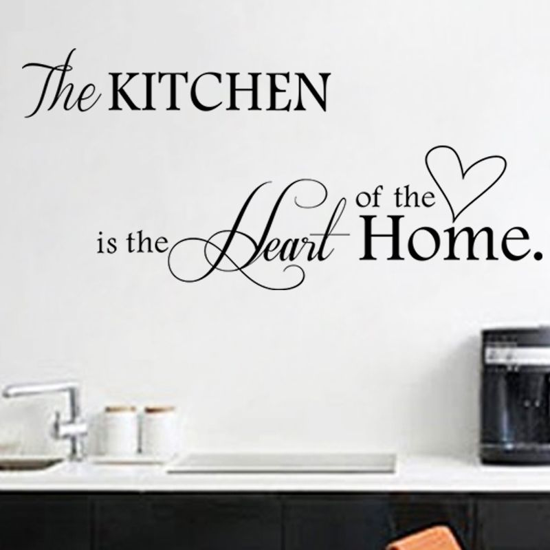 Diy Wall Stickers Home Decor Kitchen Decal Home Accessories
