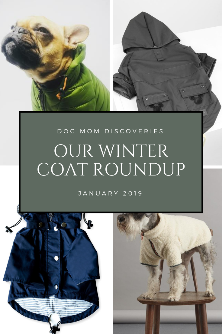 2a7cc0f984f3 Looking for a great winter coat to keep your pup warm this winter? View Our  Top Picks for Winter Coats for Dogs on Dog Mom Discoveries.