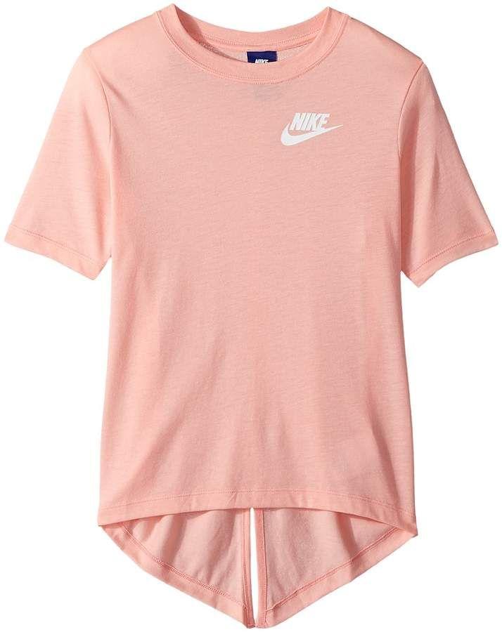 1cfb00eabd Nike Sportswear Split Short Sleeve Top Girl's Clothing | MY closet ...
