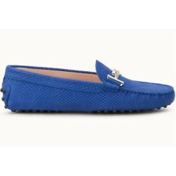 Tod's - Gommino Mokassins aus Leder, Blau, 36.5 - Shoes Tod's
