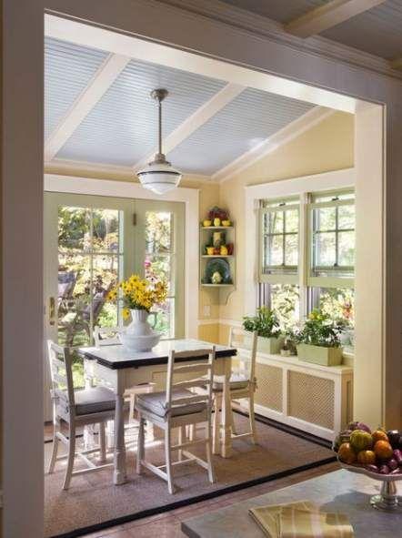 Best Breakfast Nook Sunroom Chairs 55+ Ideas #breakfast