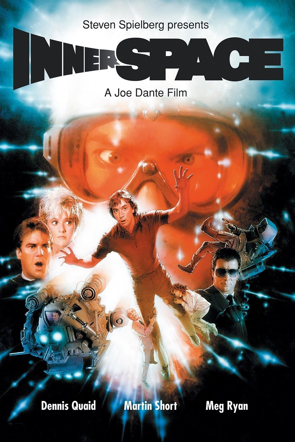 Innerspace (1987) Adventure movies, 80s movies, Fiction