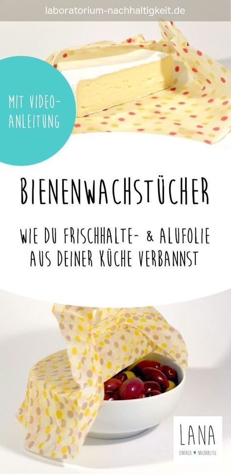 diy bienenwachstuch n hen pinterest plastik nachhaltigkeit und folie. Black Bedroom Furniture Sets. Home Design Ideas