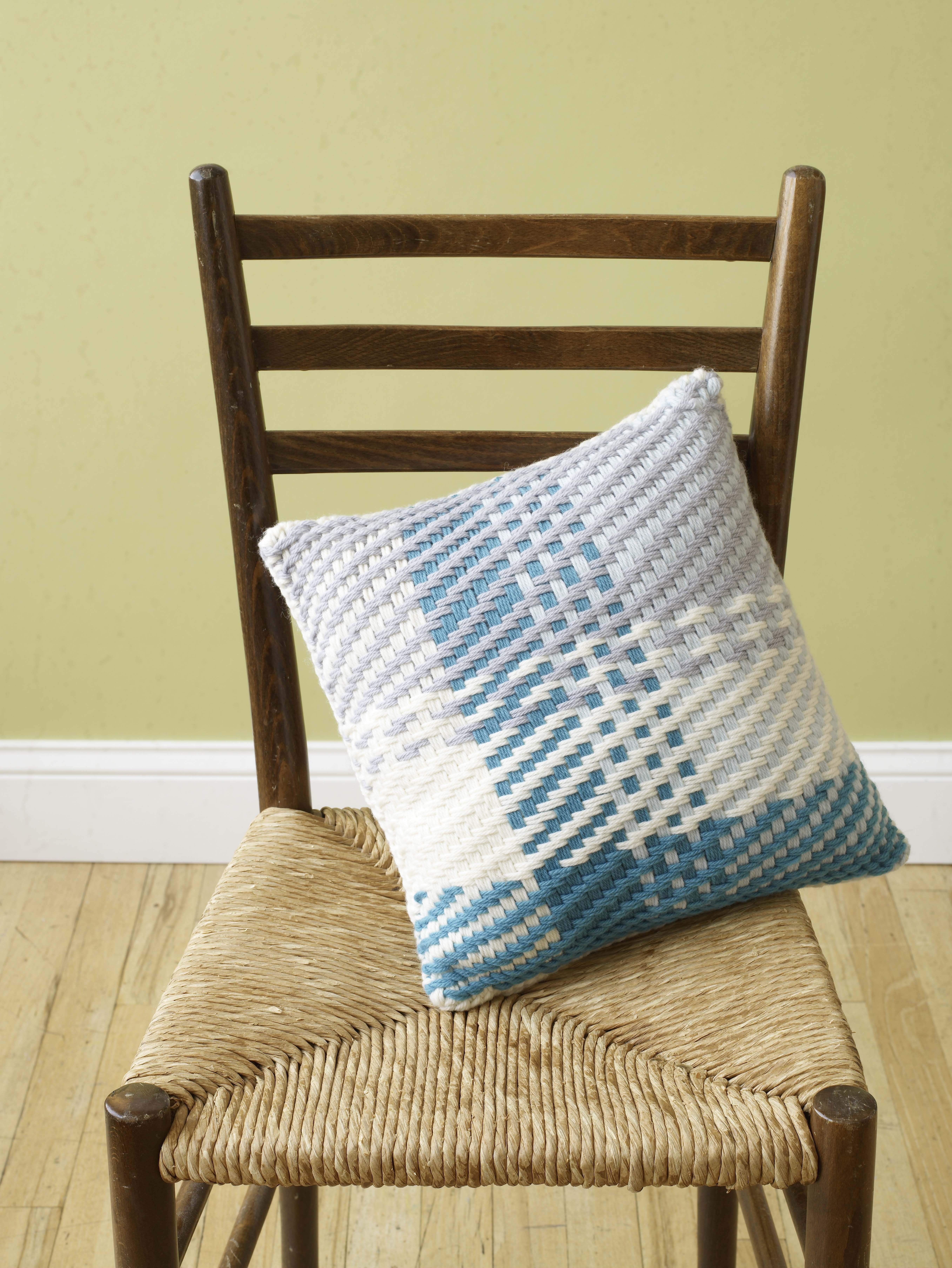 Martha Stewart Crafts Knit and Weave Loom creates one-of-a-kind home ...