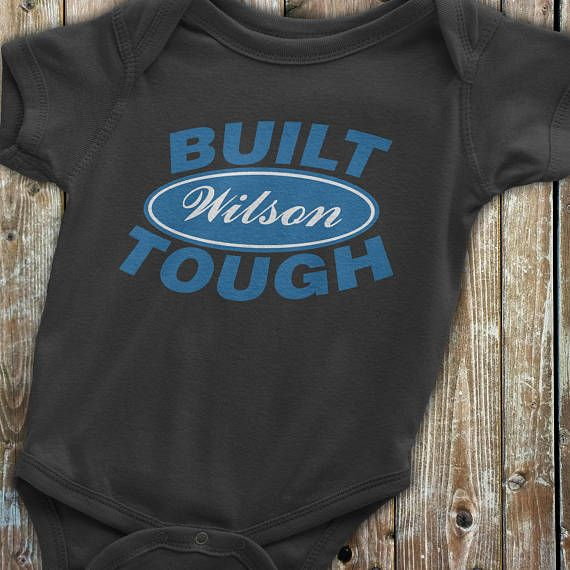 Ford baby clothes built ford tough custom onesie ford onesie ford baby clothes built ford tough custom onesie ford onesie featuring your last negle Image collections