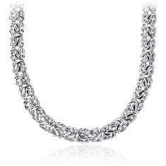 Byzantine Necklace in Sterling Silver