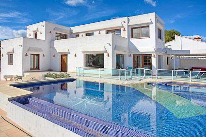 Magnifique Villa A Moraira Pour 8 Personnes 4 Chambres Tres