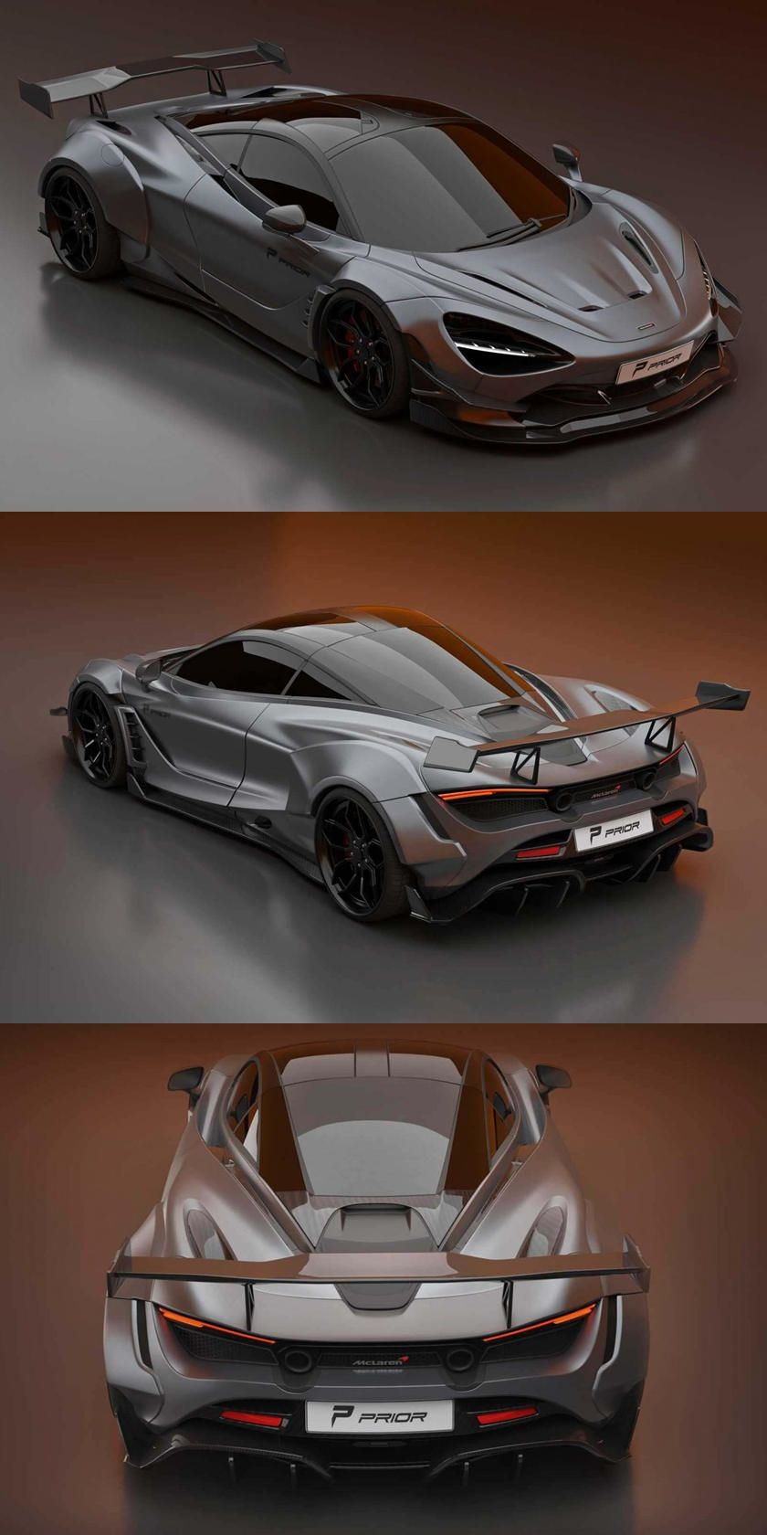 This Widebody McLaren 720S Might Be Crazier Than The 765LT