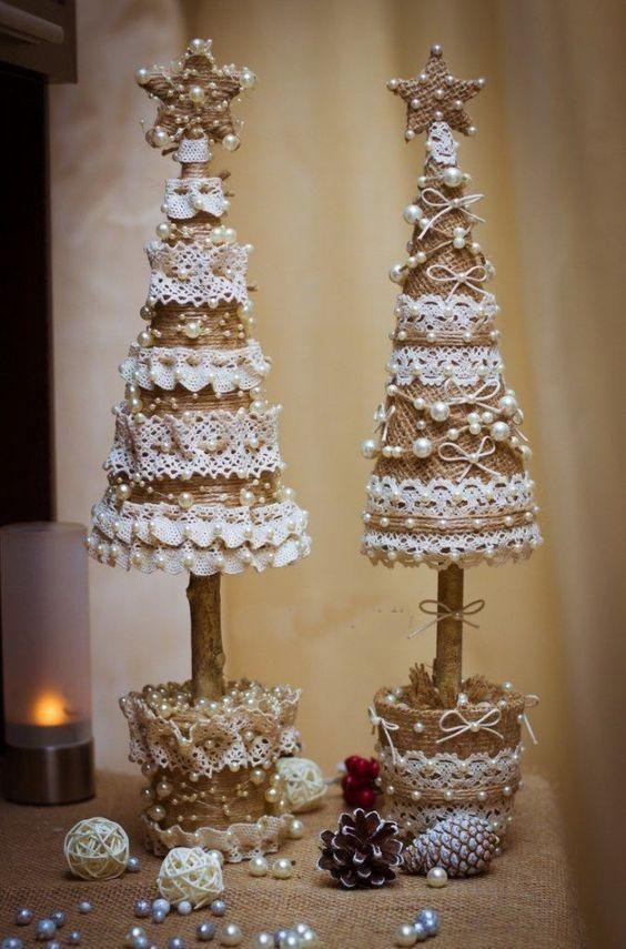 Nowosc Swiateczne Dekoracje W Ksztalcie Choinki Wow Beaded Christmas Decorations Diy Christmas Tree Christmas Crafts