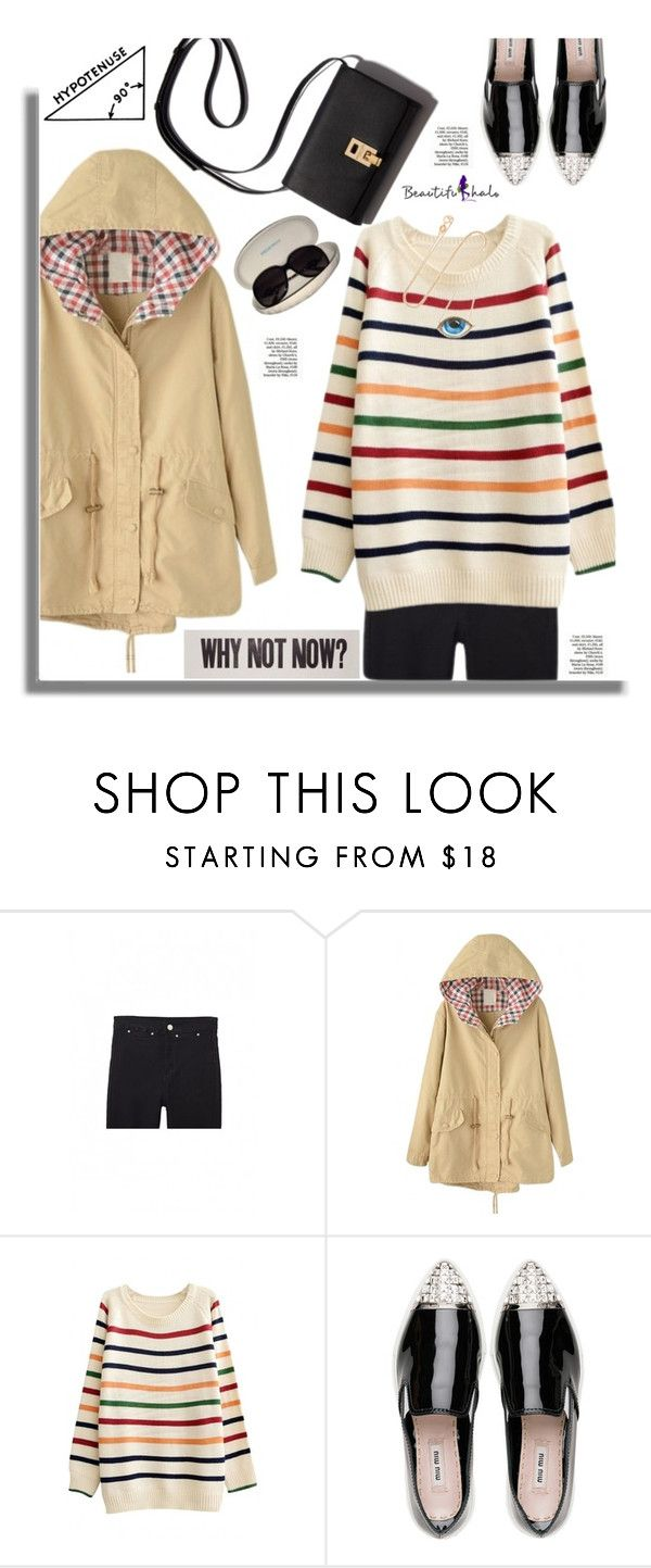 """""""Beautifulhalo.com: Why not now?"""" by hamaly ❤ liked on Polyvore featuring Miu Miu, Anja, Emilio Pucci, women's clothing, women's fashion, women, female, woman, misses and juniors"""