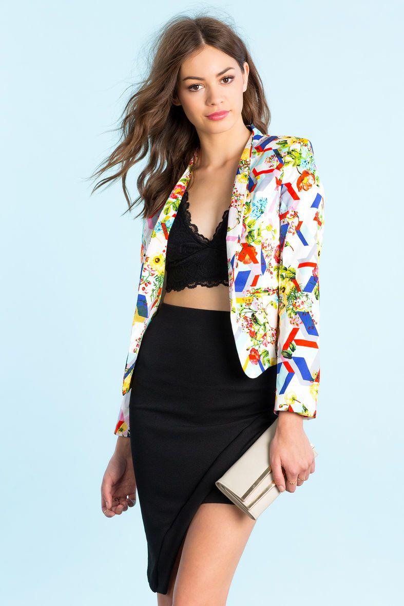 Блейзер Размеры: L Цвет: белый с принтом Цена: 993 руб.     #одежда #женщинам #блейзеры #коопт