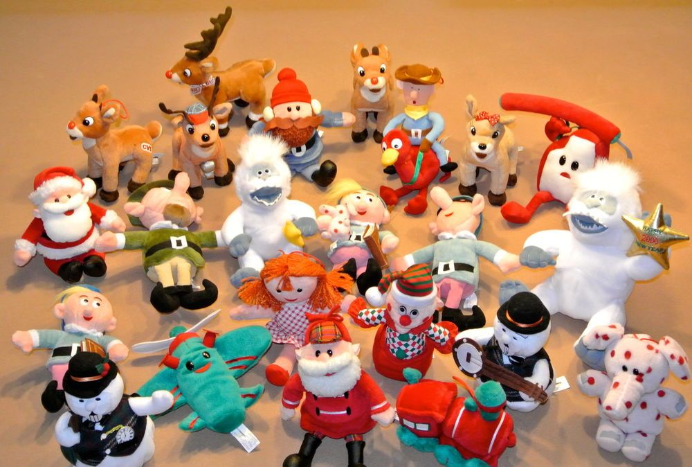 rudolph the red nosed reindeer 23 piece plush set cvs pharmacy