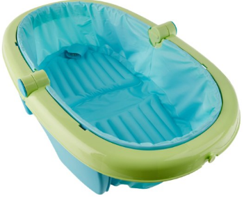 6: Summer Infant fold Away Baby bath