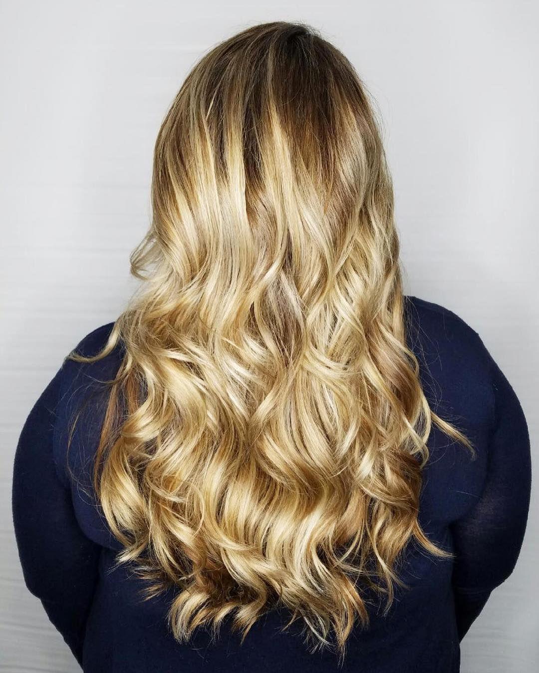 Sunny Blonde Hair By Apri Does Hair Hair Hair Salon Long Hair Styles