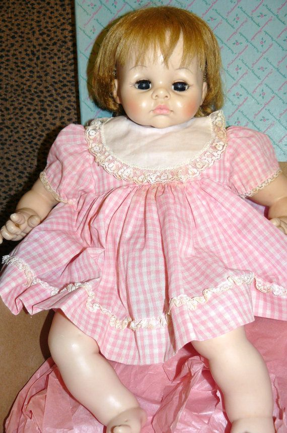 Vintage 1965 Madame Alexander Pussy Cat Baby Doll This Was