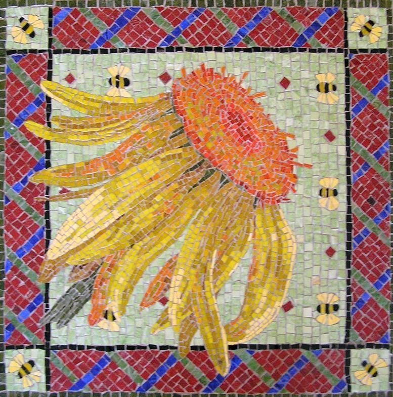 Mimi Near Mosaic Studio   mosaic wall art   Pinterest   Mosaics ...