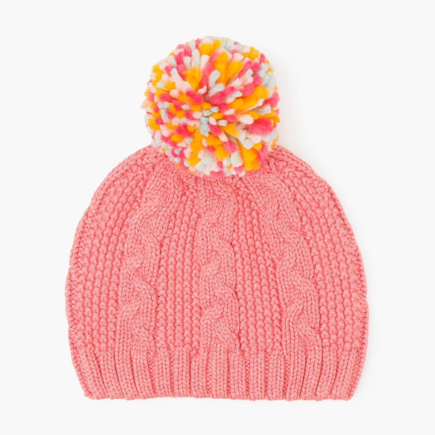 2a602dcc91b Accessories Bright Rose Cable Knit Beanie by Gymboree