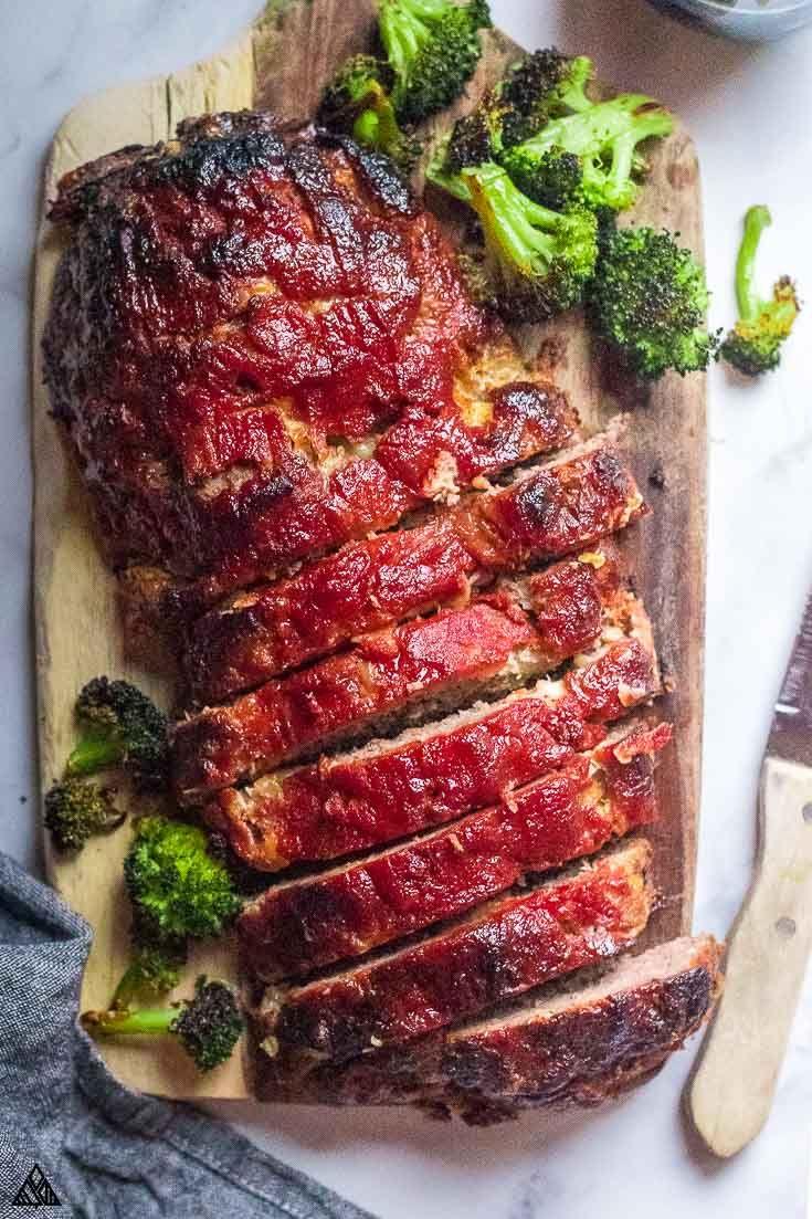 Low Carb Meatloaf (6g Net Carbs/Slice!)