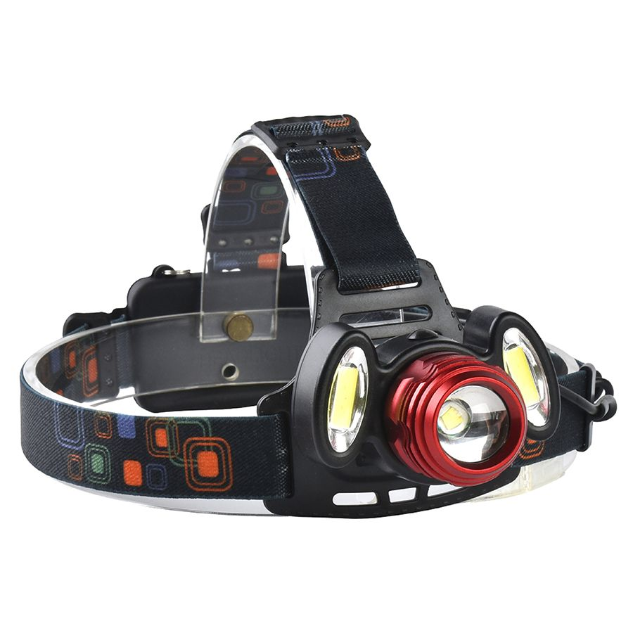 Xanes 2305 1200 Lumens T6 2xcob Bicycle Headlamp Mechanical Zoom Adjustable Head Light Bike Bicycle From Sports Outdoor On Banggood Com Headlamp Led Headlamp Outdoor Flashlight