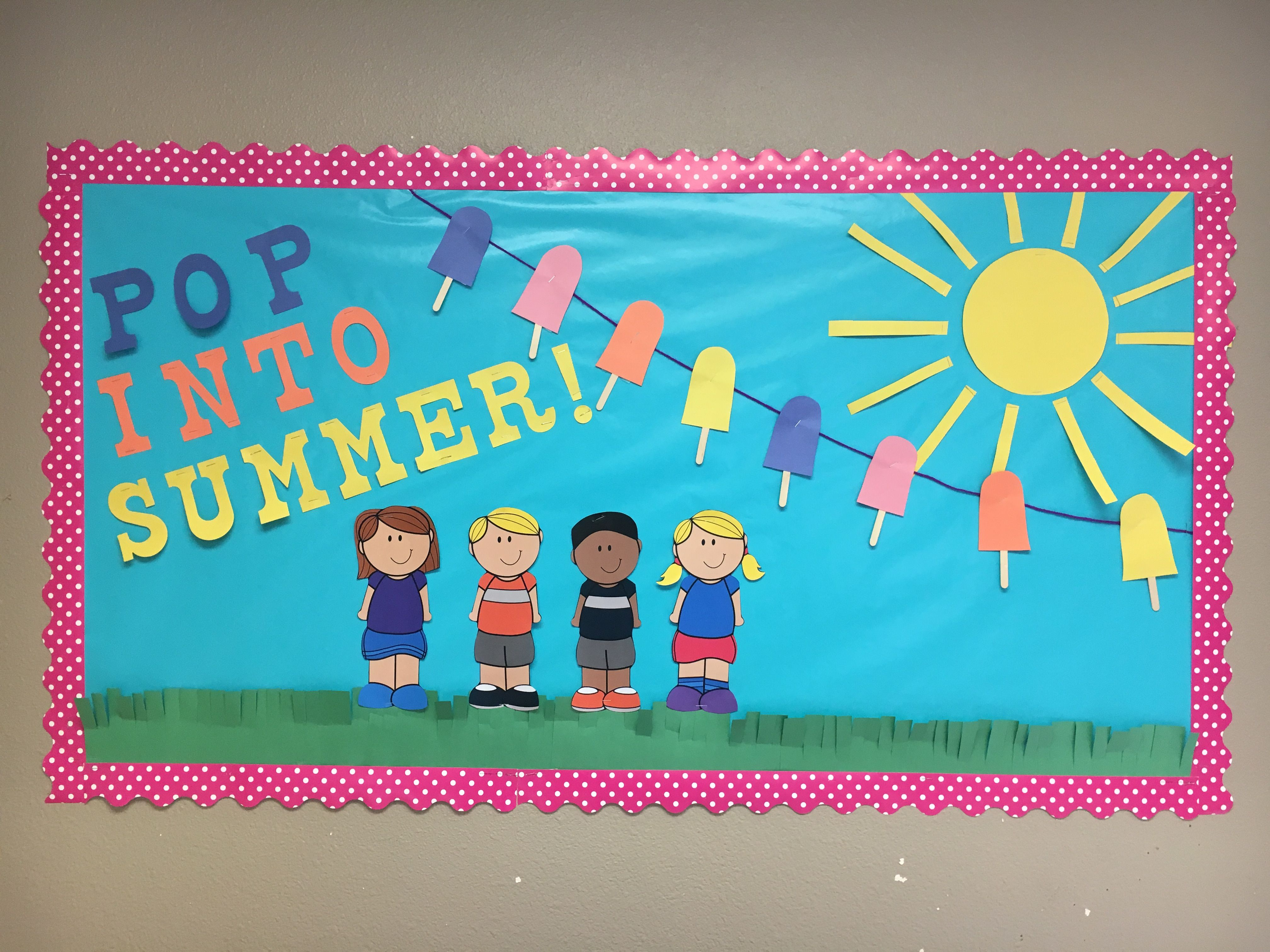 Summer School Bulletin Board Classroom