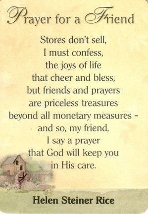 Thoughts and prayers for a friend | inspirational quotes | Prayer