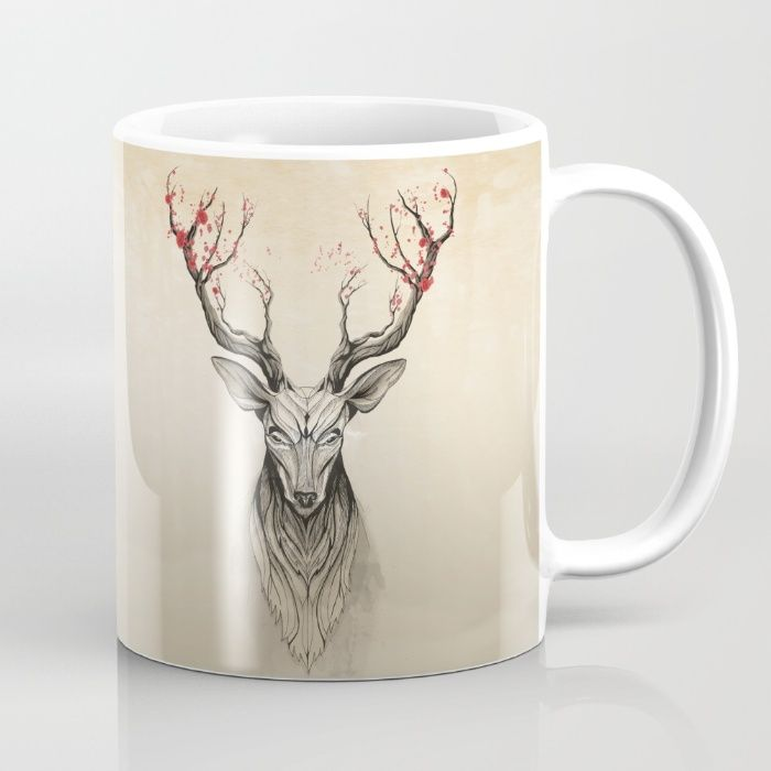 Deer tree Mug