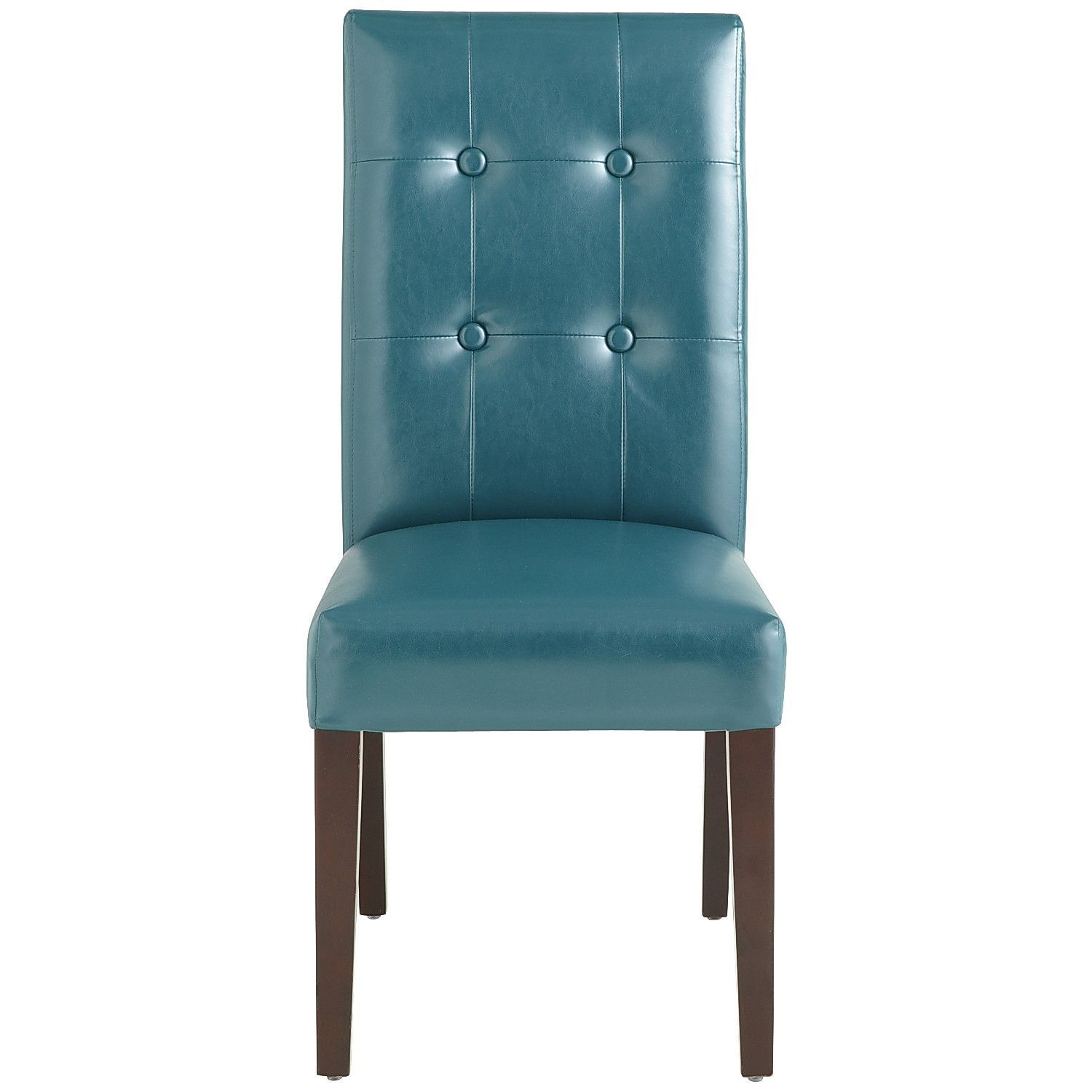 Mason Teal Dining Chair with Espresso Wood | Dining room ...