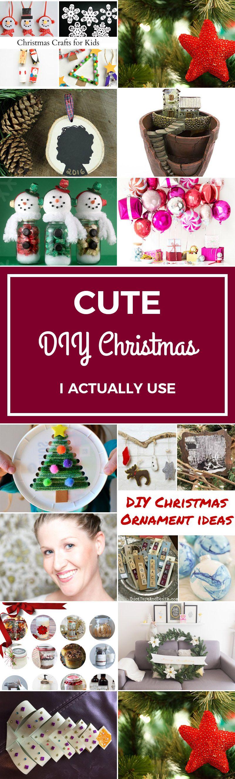 45 Cute Diy Christmas I Actually Use