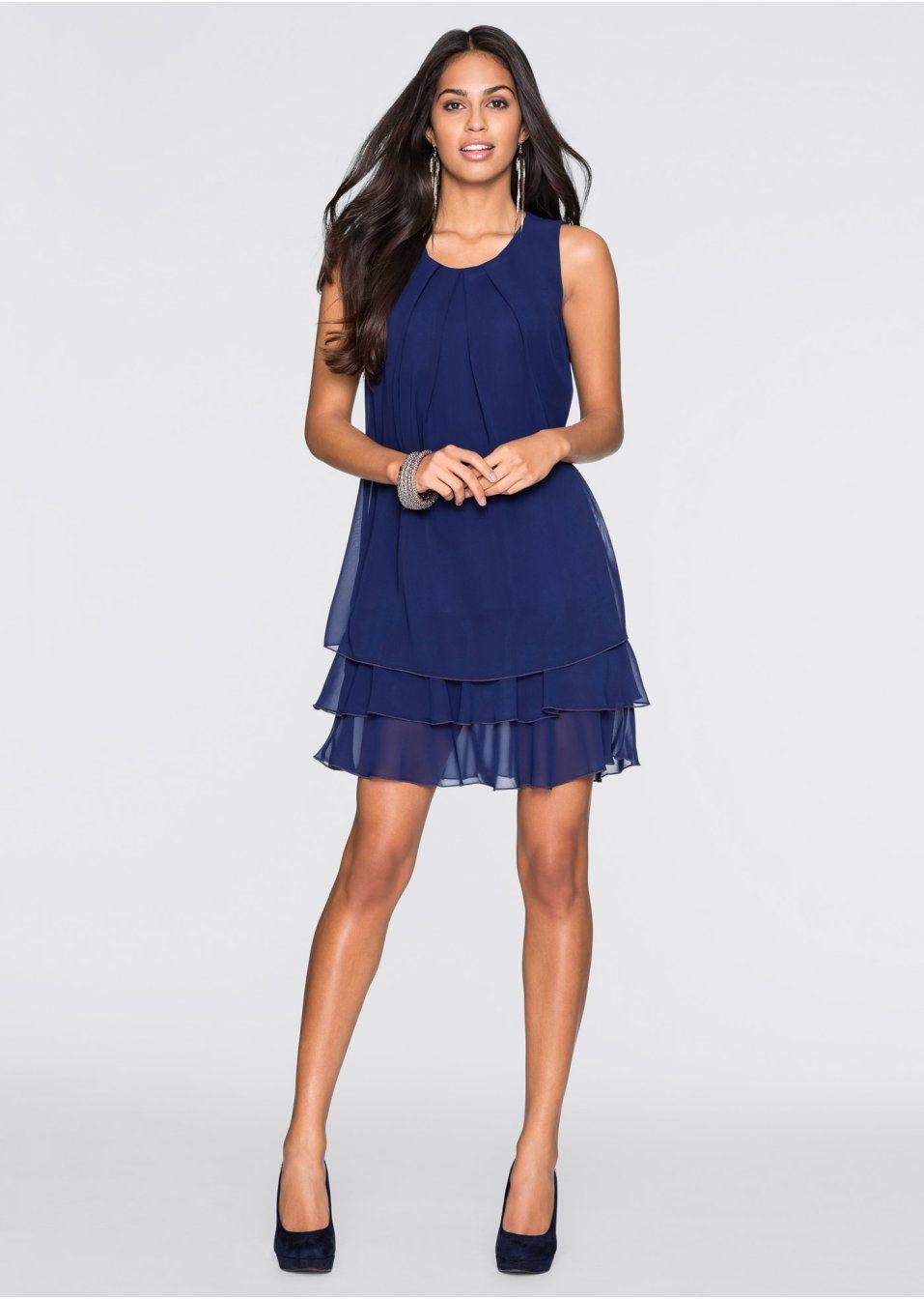 c98793026e Sukienka szyfonowa Elegancka sukienka • 109.99 zł • bonprix