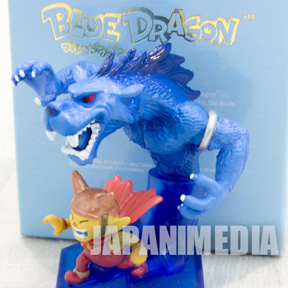 Blue Dragon Marumaro & Shadow Saber Tiger Mini Figure