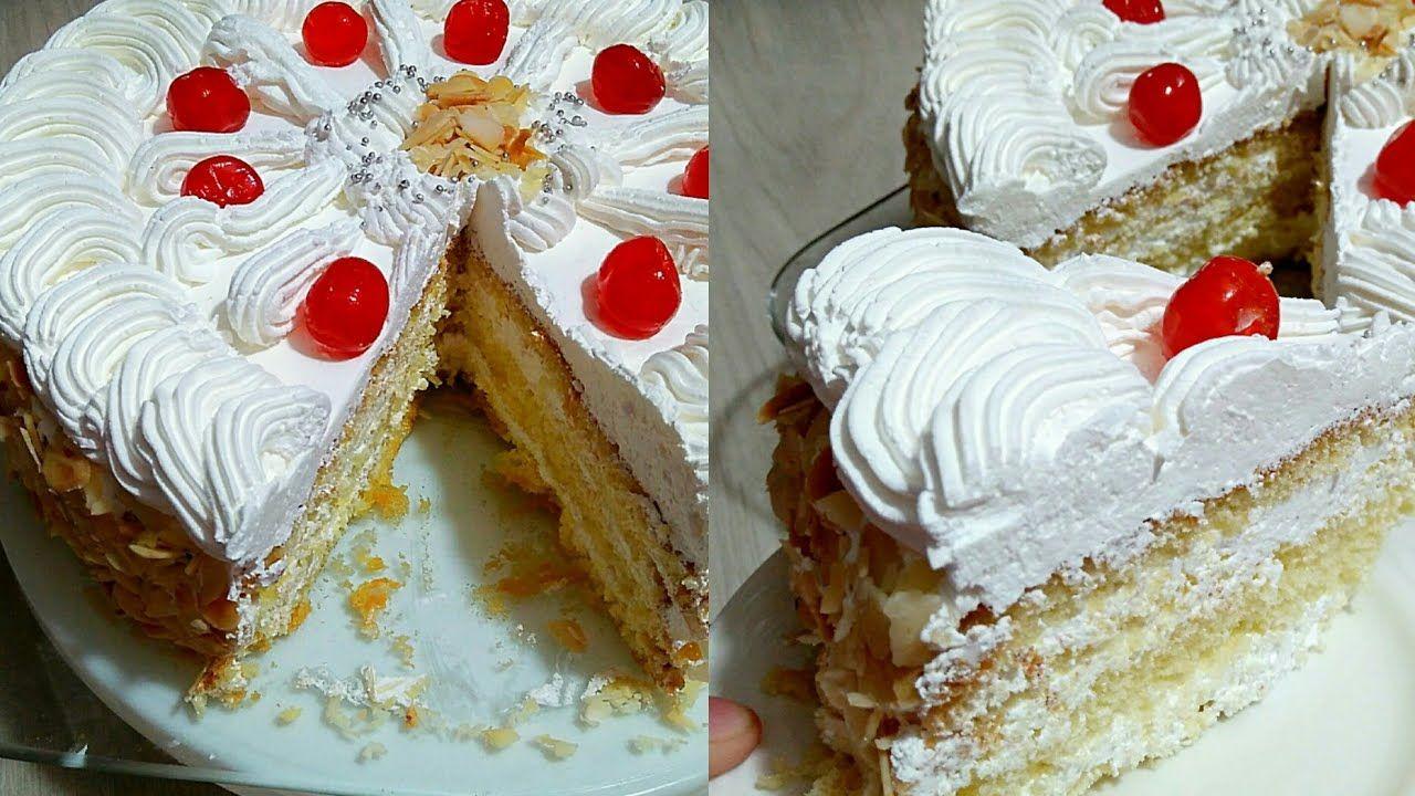 اسهل طريقة لعمل طرطة عيد ميلاد غير مكلفة Cake Cake Cookies Desserts