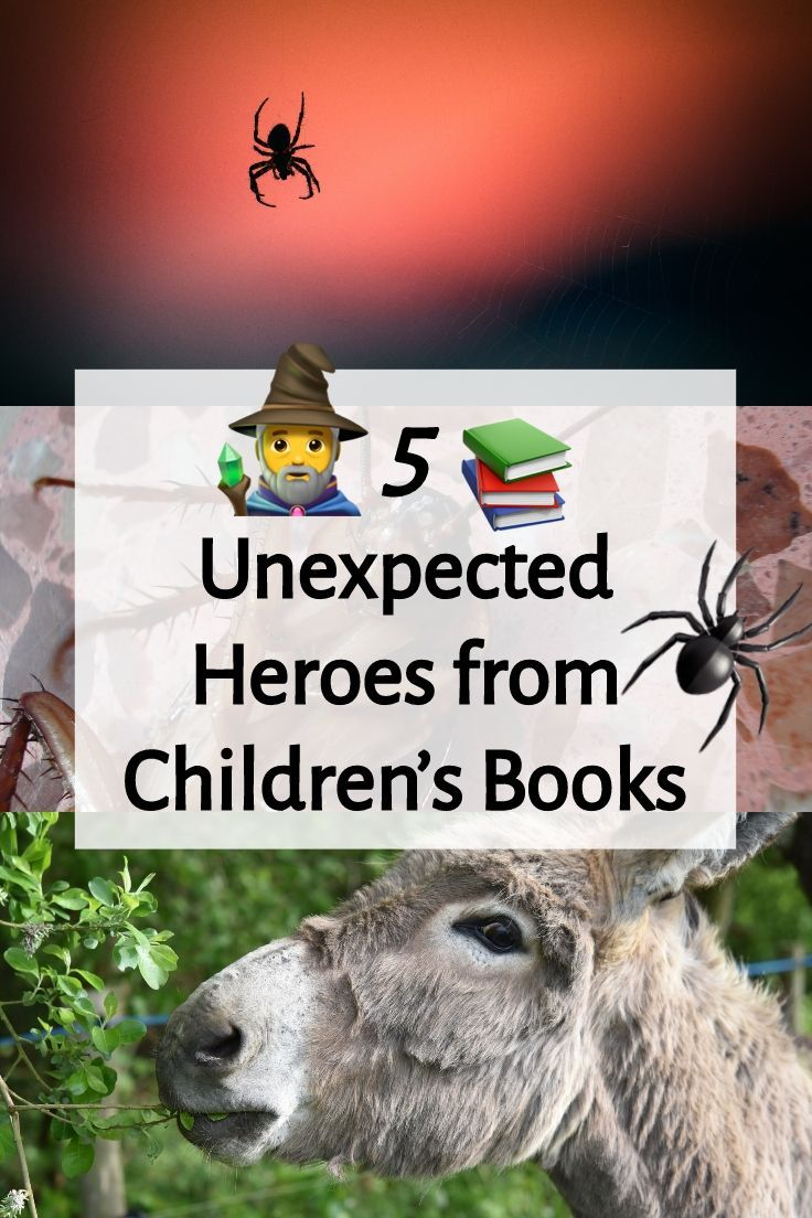 5 unexpected heroes from childrens books books for