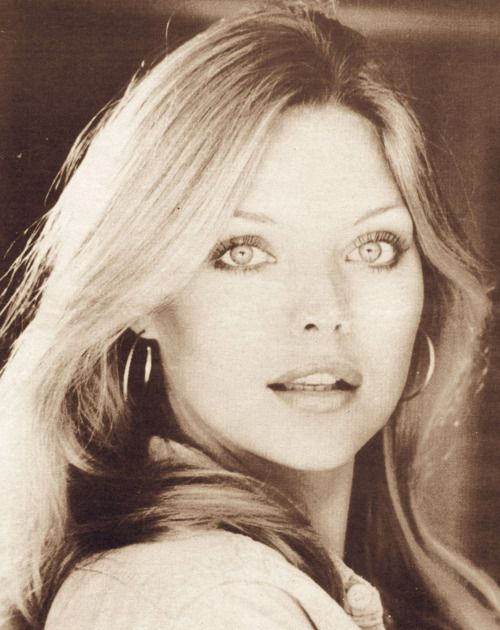 Michelle Pfeiffer looking every inch the perfect Orange County California girl she started out as.