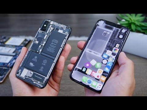 Way Better CLEAR Back iPhone X/8/7 Mod! http//timesofksk