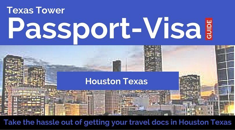 Good Morning Houston Texas! Remember us for your passport