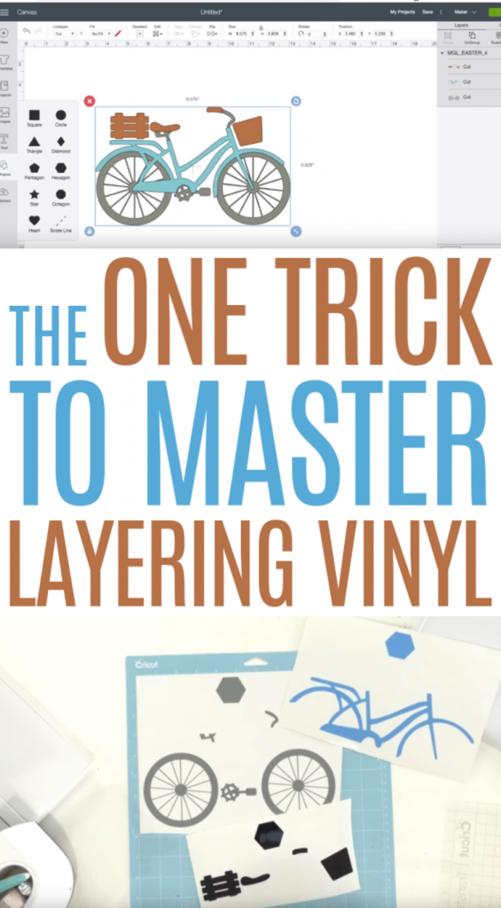 The One Trick to Master Layering Vinyl - Makers Gonna Learn
