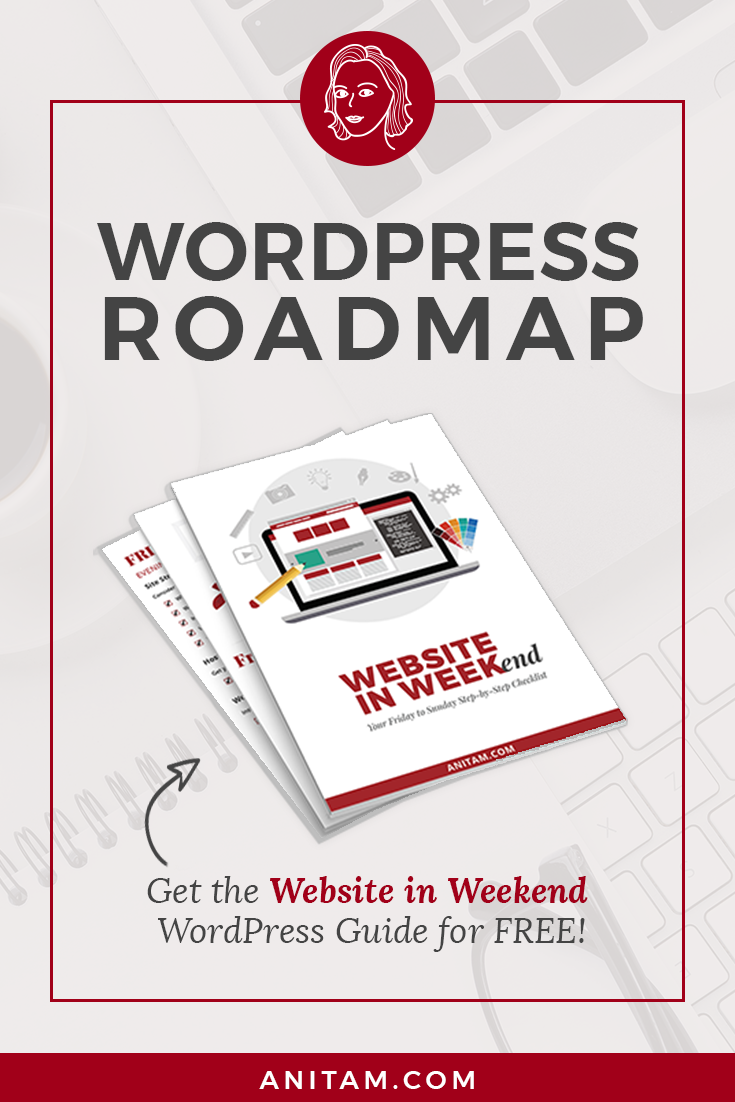 Wordpress Roadmap Launch Your Website In Weekend Anitam In 2020 Web Design Tips Wordpress Tutorials Wordpress