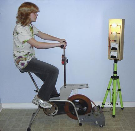 Turn An Exercise Bike Into An Energy Bike Biking Workout Bike Turn Ons