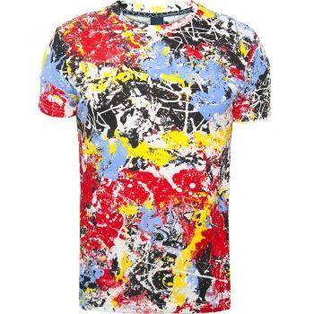 STONE ROSES Paint Splatter T-Shirt