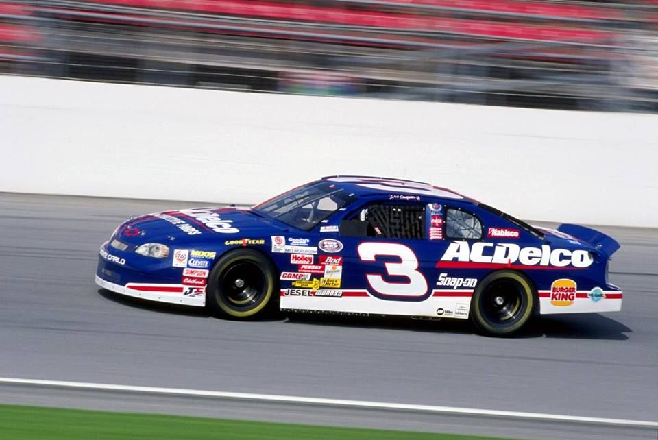 1999 Dale Earnhardt Jr 3 Races His Car In A Pre Qualifying Heat Of The Busch Grand National Series During Daytona Speedweek At