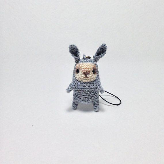 Amigurumi Bunny Keychain Free Pattern : Amigurumi Bunny Keychain Free  Pattern #Amigurum…   Crochet keychain pattern, Crochet rabbit, Crochet  coasters free pattern   570x570