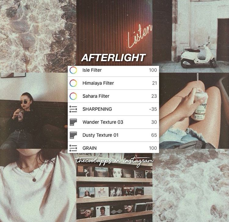 Pin By Yuwen On All Phone Afterlight Filter Afterlight Vintage Photo Editing
