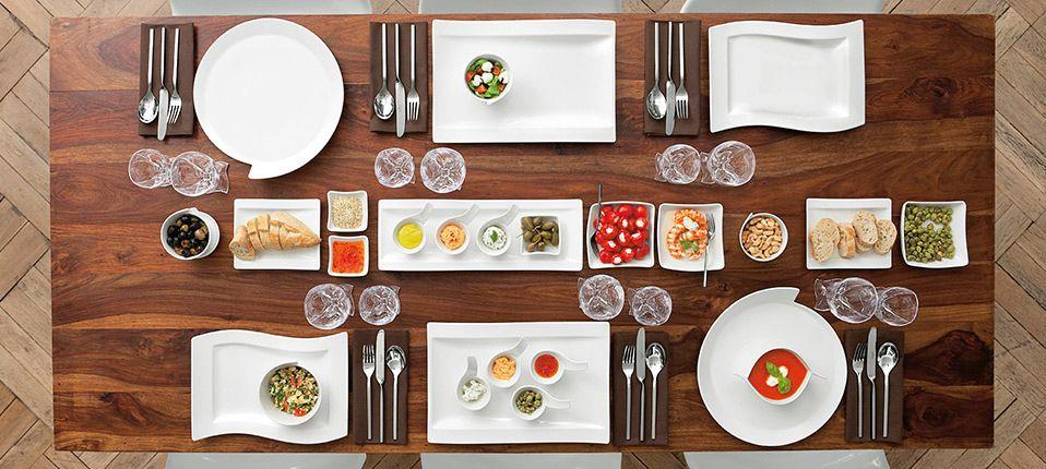 Villeroy Boch Villeroy Boch Patterned Plates Porcelain Tableware