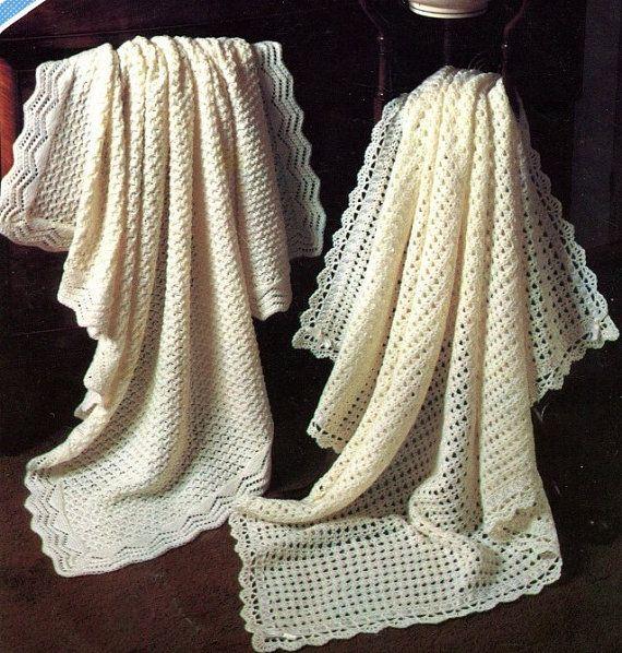Instant Knitting & Crochet Pattern TWO BABY by KenyonDownloadBooks