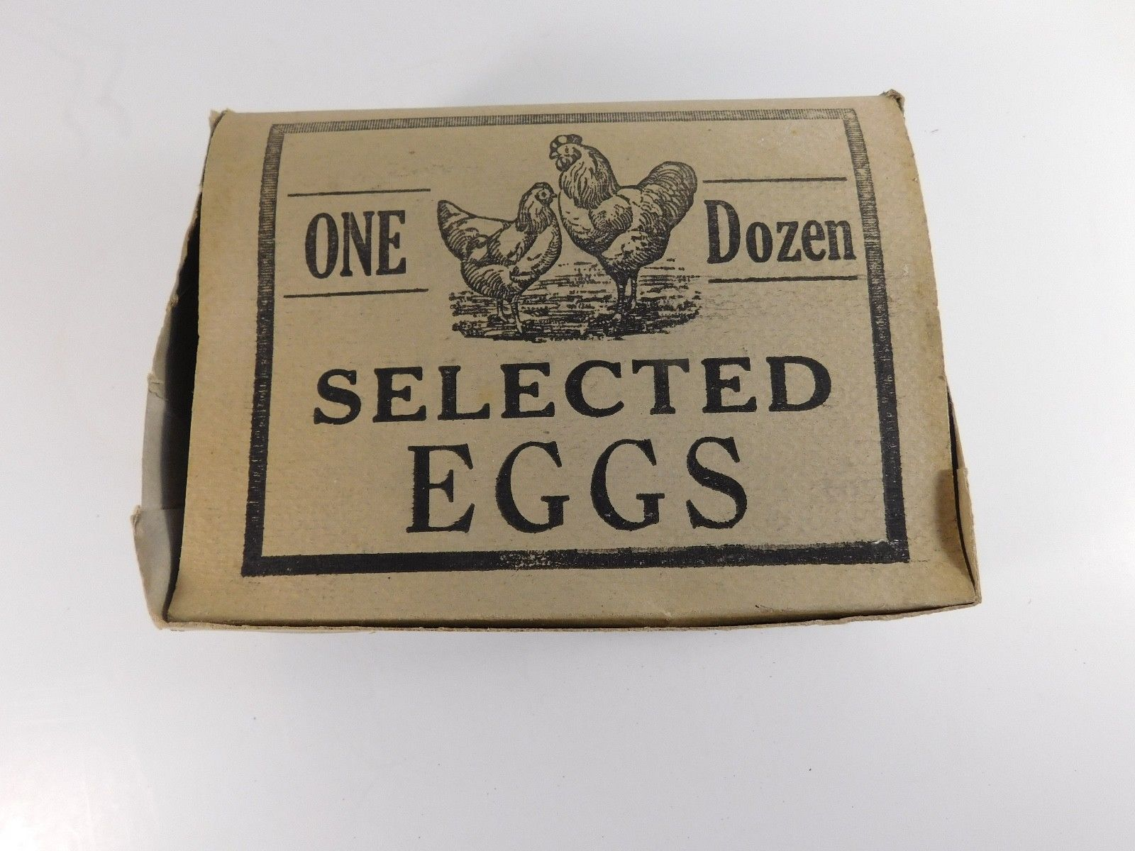 Vintage Cardboard Egg Carton For 1 Dozen Eggs Free Shipping Ebay Egg Carton Carton Egg Free