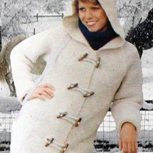 Pletena jakna sa kapuljačom - Pletenje